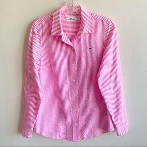 Vineyard Vines Pink Oxford shirt size 4